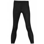 Engel naiste püksid pitsäärega vill-siid, must