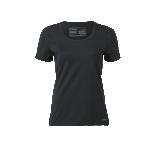 Engel Sports naiste lühikeste varrukatega pluus vill-siid, must