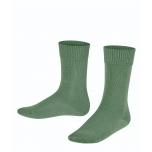 FALKE Comfort meriinovill-puuvill sokid mineral green