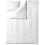 Finlayson Tyrsky 2-osaline voodipesukomplekt satiin valge 150x210cm