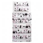 Familon Karhunen 2-osaline voodipesukomplekt 120x160cm, roosa