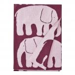 Finlayson pleed-beebitekk Elefantti punane/roosa 80x100cm