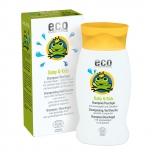 ECO Cosmetics VEGAN laste šampoon-dušigeel granaatõuna ja astelpajuga 200ml