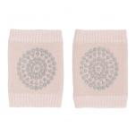 GoBabyGo stopperitega põlvekaitsmed Soft Pink Glitter