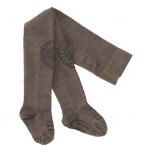 GoBabyGo stopperitega villased sukkpüksid brown melange