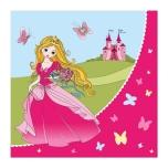 Susy Card salvrätikud Printsess 33x33xm 20tk