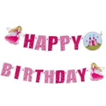 Susy Card kaunistus Happy Birthday-Printsess 2m
