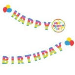 Susy Card kaunistus Happy Birthday 1,3m