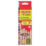 Herlitz värvipliiats Trilino puit 6 värvi