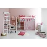 Hoppekids kardinad keskmise kõrgusega voodile 70x160cm erinevad värvid
