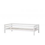 Hoppekids BASIC voodi 3/4 turvapiirdega 90x200cm valge