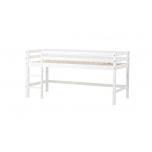Hoppekids BASIC poolkõrge voodi redeliga, jagatav 90x200cm erinevad värvid