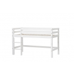 Hoppekids BASIC poolkõrge voodi redeliga, jagatav 70x160cm erinevad värvid