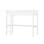 Hoppekids BASIC kõrge voodi redeliga, jagatav 90x200cm valge