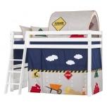 Hoppekids kardinad keskmise kõrgusega voodile 90x200cm erinevad värvid