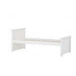 Hoppekids voodi MAJA DELUXE 90x200cm, kõrge-keskmine otsad valge mai pakkumine