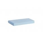 Hoppekids külmtöödeldud poroloonmadrats tepitud katteriidega 160x12x70cm erinevad värvid