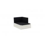Hoppekids BASIC ja PREMIUM lounge voodi 80x120cm valge