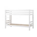 Hoppekids PREMIUM narivoodi püstise redeliga paindlik voodipõhi 90x200cm valge