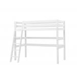Hoppekids PREMIUM kõrge voodi kaldredel + laud 90x200cm valge