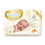 Huggies mähkmed Elite Soft 1 kuni 5kg 26tk