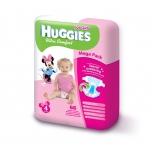 Huggies Ultra Comfort Mega 4 Girl 8-14kg 66tk