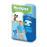 Huggies Ultra Comfort Mega 5 Boy 12-22kg 56tk