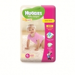 Huggies Ultra Comfort Giga 4+ Girl 10-16kg 68tk