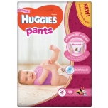 Huggies püksmähkmed Pants 3 Mega Girl 6-11 kg 58tk