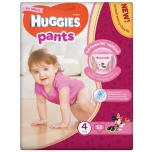 Huggies püksmähkmed Pants 4 Mega Girl 9-14kg 52tk