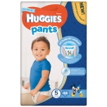 Huggies püksmähkmed Pants 5 Mega Boy 13-17kg 44tk