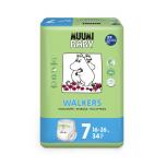 Muumi ÖKO Walkers/püksmähkmed 7 16-26kg 34tk