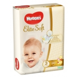 Huggies mähkmed Elite Soft 3 Mega 5-9kg 80 tk