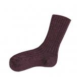 Joha meriinovillane sokk aubergine melange