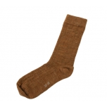 Joha õhuke meriinovillane sokk, copper melange
