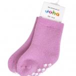 Joha meriinovillane sokk stopperiga roosa