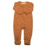 Joha kombinesoon 2in1 foot meriinovill Mini Leo, oranž