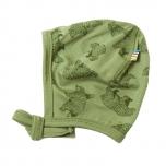 Joha ühekordne beebimüts meriinovill Bear, roheline