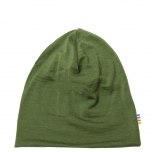 Joha kahekordne müts meriinovill, roheline
