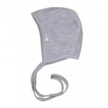 Joha beebimüts kahekordne meriinovil hall