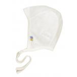 Joha ühekordne beebimüts vill-siid valge