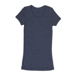 Joha naiste vill-siid t-särk sinine