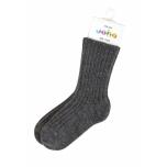 Joha meriinovillane sokk tumehall
