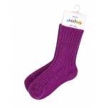 Joha meriinovillane sokk fuksia