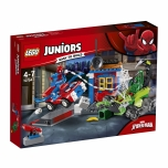 LEGO Juniors Ämblikmehe ja Scorpioni tänavaheitlus 125 elementi