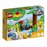 LEGO DUPLO Õrnade hiiglastega laste loomaaed 24 elementi