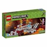 LEGO Minecraft Netheri raudtee 387 elementi