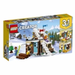 LEGO Creator Moodulehitis talvepuhkuseks 374 elementi
