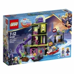 LEGO Super Hero Girls Lena Luthori krüptomiidi tehas 432 elementi