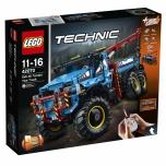 LEGO Technic Kuuerattaveoga maastikupuksiirauto 1862 elementi